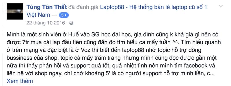 Anh Tùng, sinh viên ĐH ở TP HCM