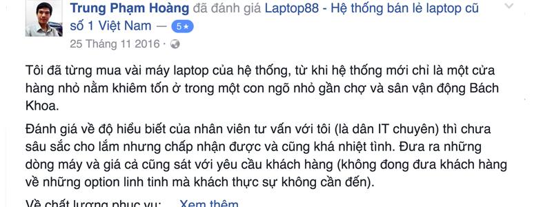 Anh Trung, kỹ sư IT ở Hà Nội