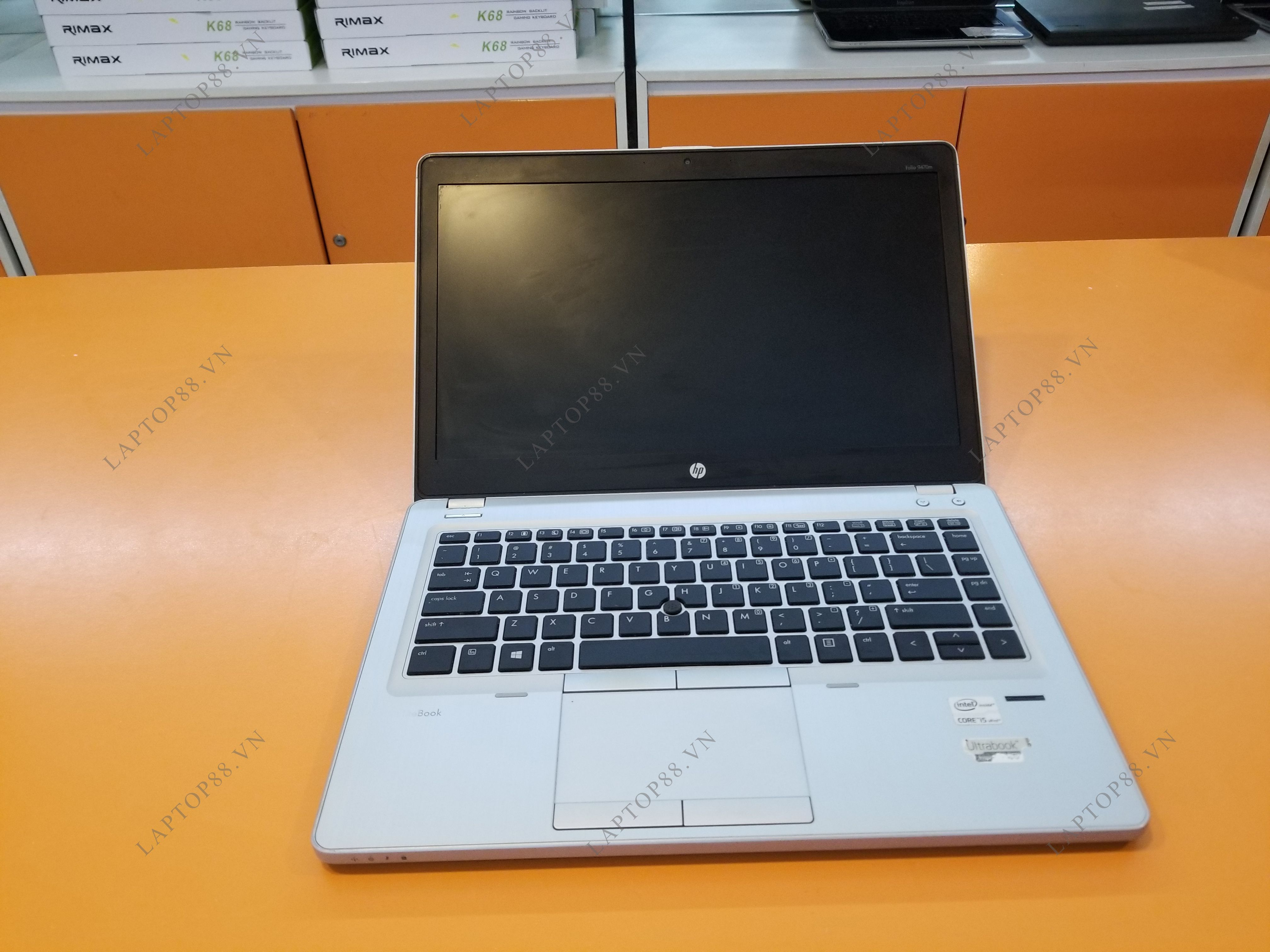 Laptop cũ Elitebook HP Folio 9470m (Core i5 3437U, 4GB, HDD 250GB, HD Graphics 4000, 14 inch) - Bảo hành 1 năm_1