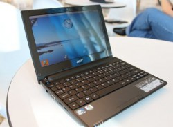 Netbook cũ Acer Aspire One D255E (Atom-N455, 2GB, 250GB, Intel GMA 3150, 10.1 inch, FreeDOS)