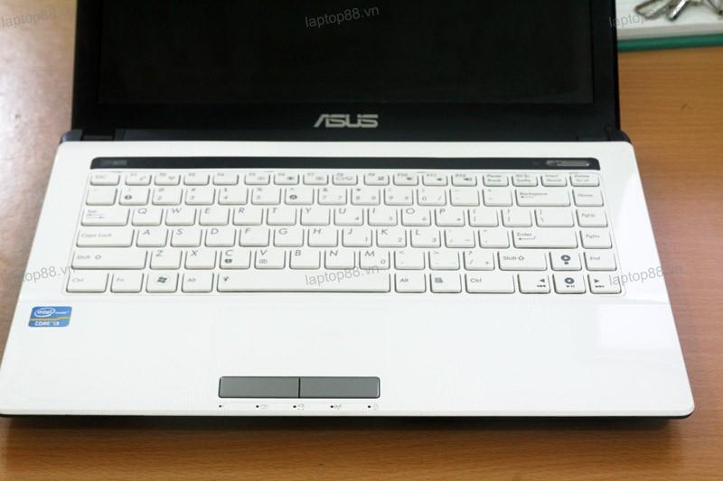 Laptop Asus Mau Trang Asus K43e Mau Trang Ban Phim