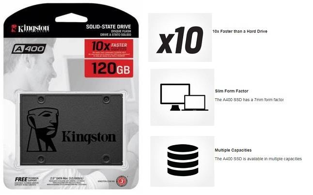 ổ cứng SSD Kingston A400