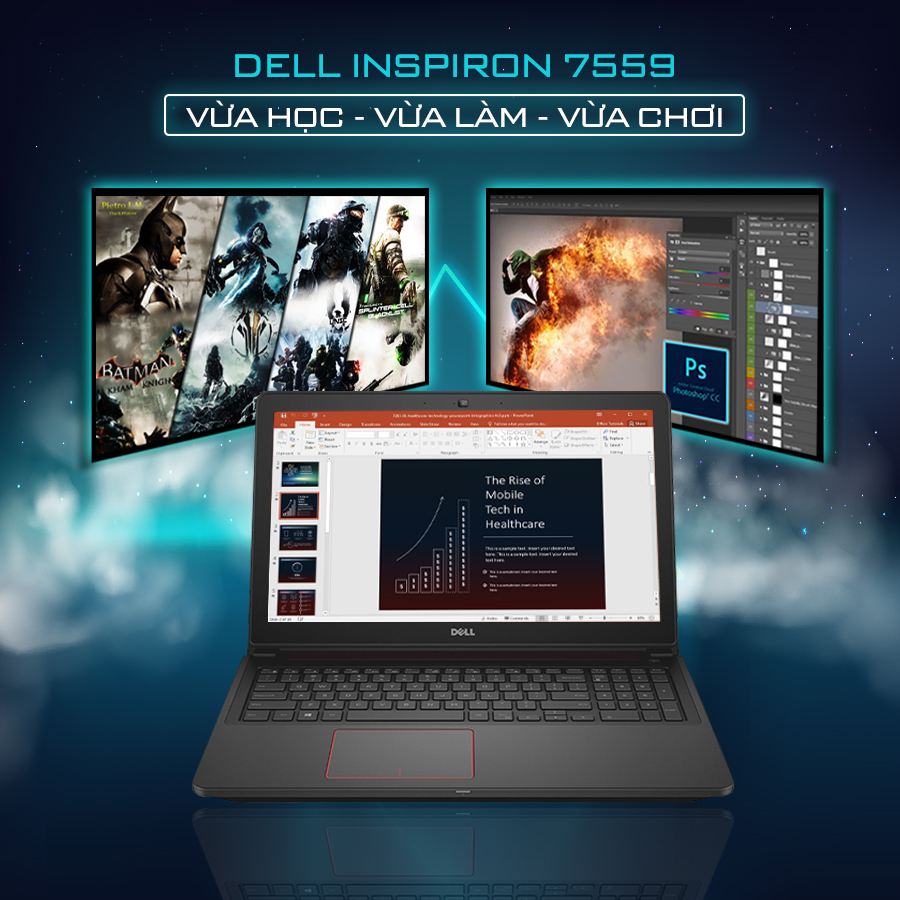 laptop chơi game cho sinh viên 2