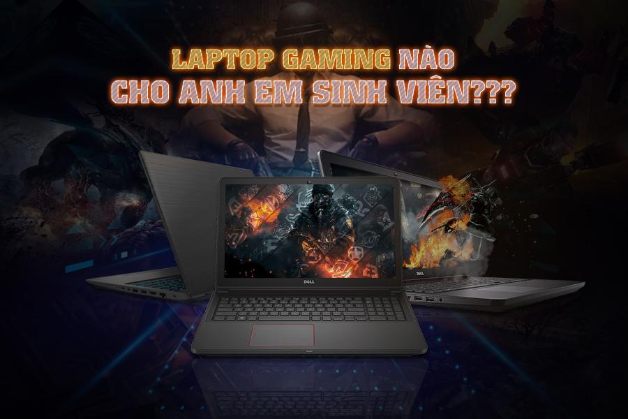 laptop chơi game cho sinh viên