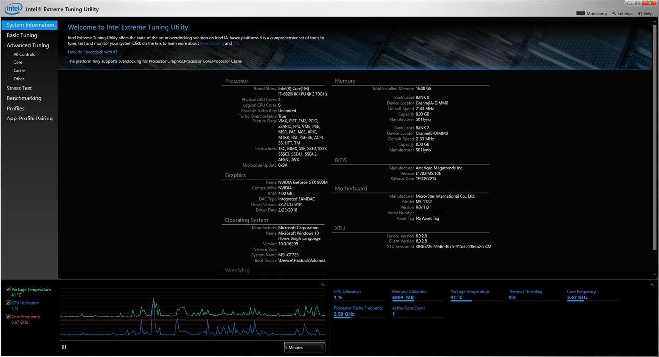 Hướng dẫn undervolt giảm nhiệt độ bộ vi xử lý CPU