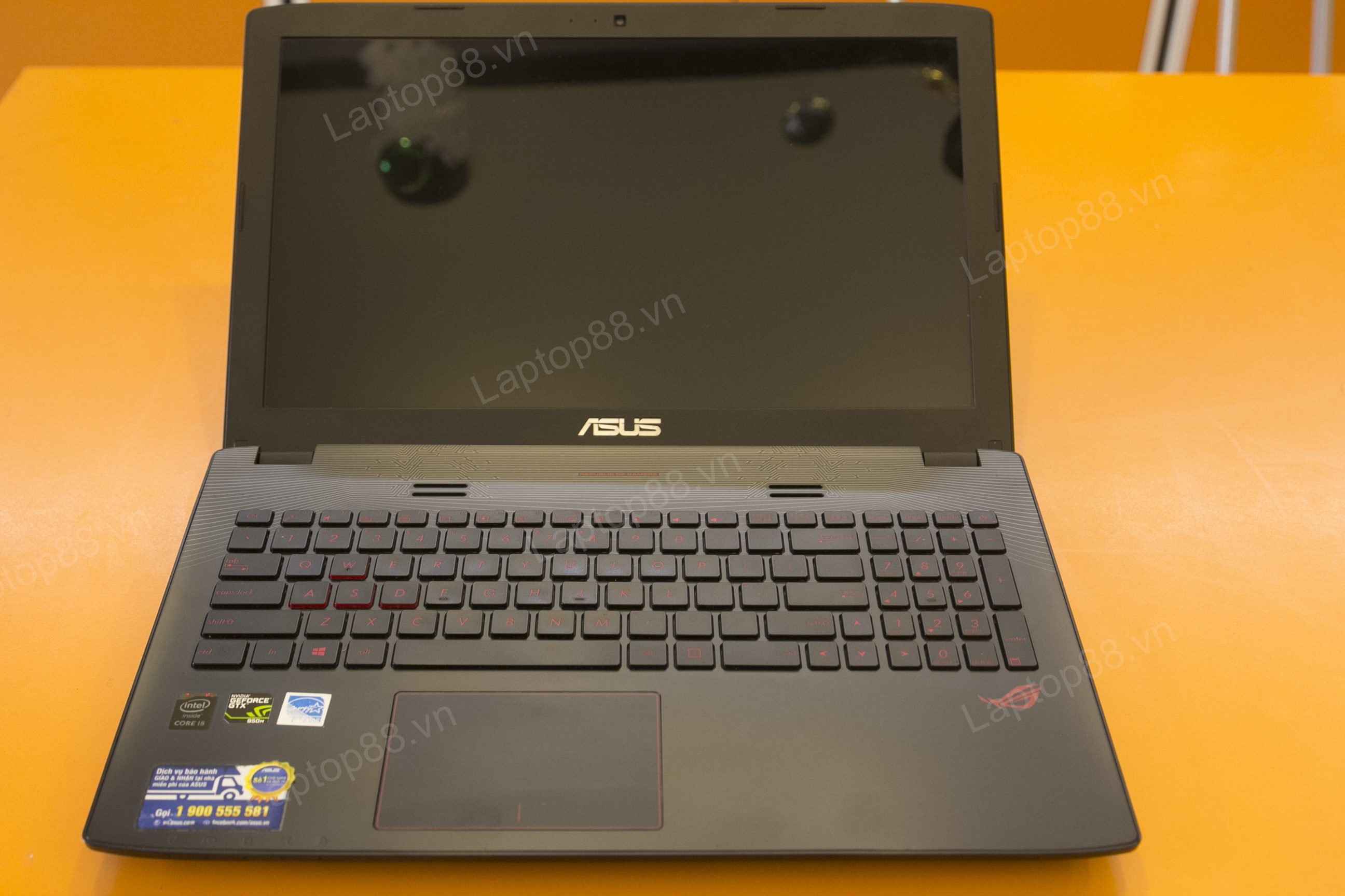 Laptop Gaming Asus GL552VX (Core i7 6700HQ, RAM 8GB DDR4, Nvidia Geforce GTX 950M, HDD 1TB, LCD 15.6 inch; FullHD)1