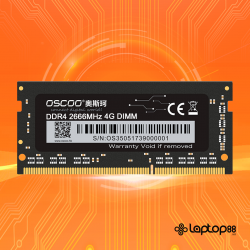 RAM Laptop DDR4 - Oscoo PC4 - Bus 2666 MHz