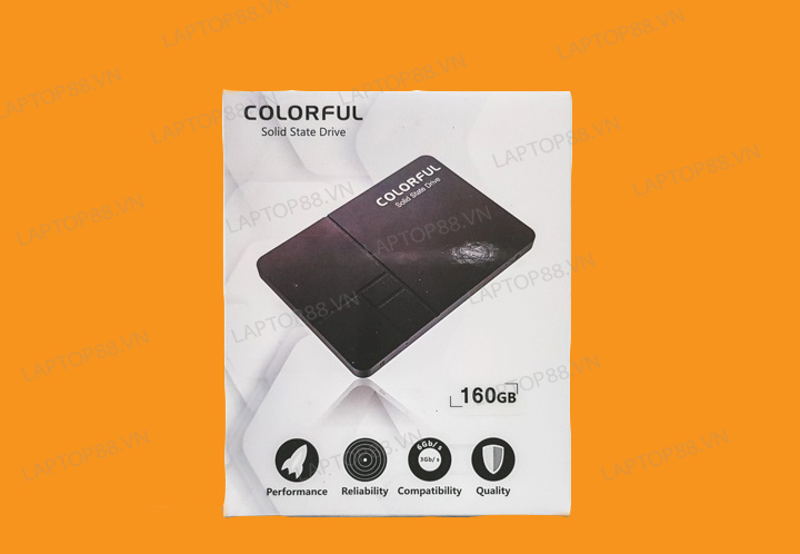 SSD mới - Colorful 160GB