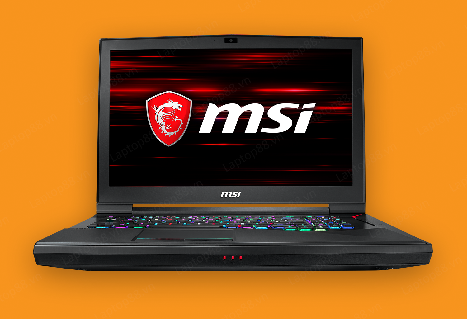 "Laptop Gaming MỚI MSI GT75 Titan 8RG (Intel Core i9 8950HK, RAM 32GB, Super Raid 4-512GB (256GB*2) NVMe SSD + HDD1TB, Nvidia GeForce® GTX 1080, 17.3"" 4K, KeyLED RGB)"
