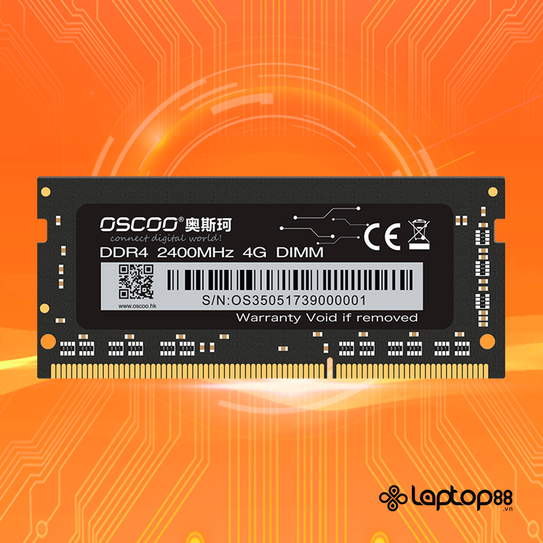 RAM Laptop DDR4 - Oscoo PC4 - Bus 2400 MHz