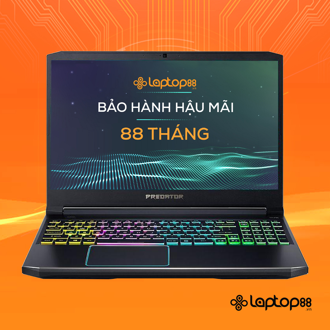 [Mới 100% Full Box] Laptop Acer Predator Helios PH315-52-75R6 - Intel Core i7