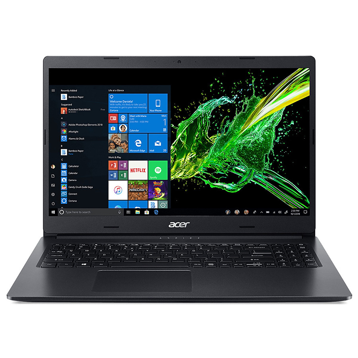 [Mới 100% Full box] Laptop Acer Aspire 3 A315-55G-504M  - Intel Core i5