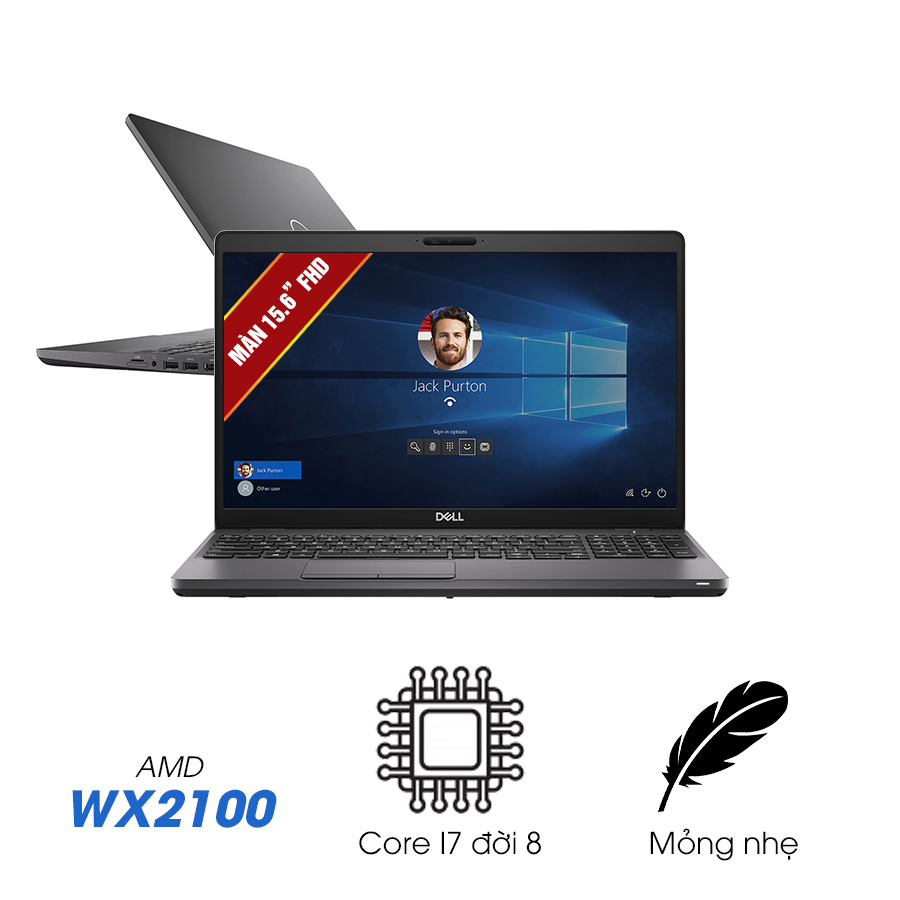 [Pre-Order]Laptop Cũ Dell Precision 3540 - Intel Core i7