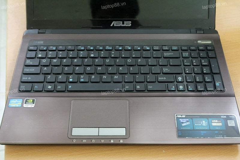 Laptop Asus K53SV (Core i5 2450M, RAM 4GB, HDD 500GB, Nvidia Geforce GT 540M, 15.6 inch)