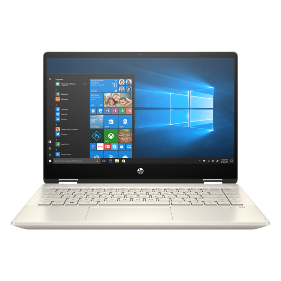 [Mới 100% Full Box] Laptop HP Pavilion X360 14-dw0063TU - Intel Core i7
