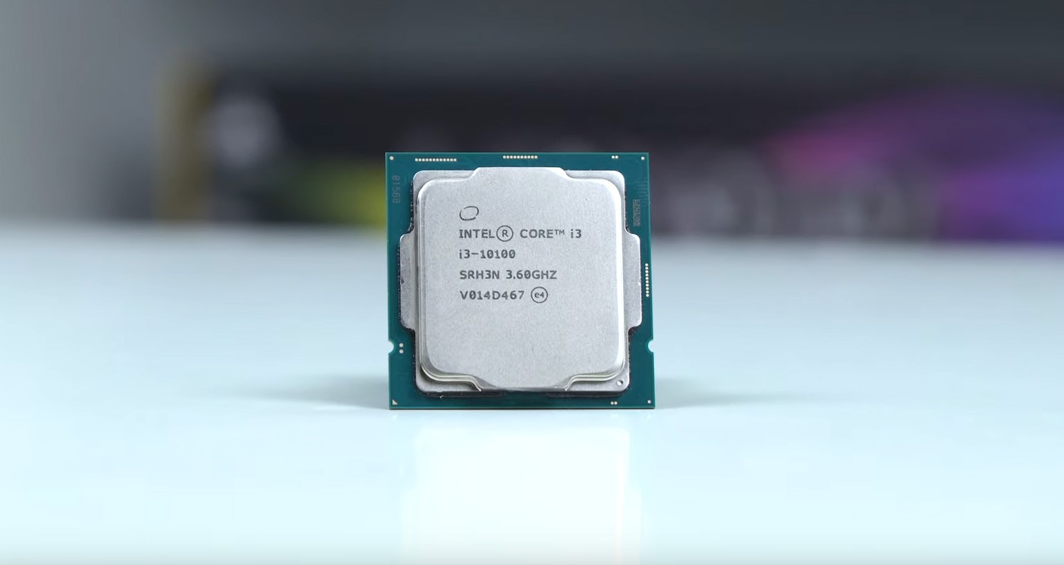 CPU Intel Core i3-10100 (3.6GHz turbo up to 4.3Ghz, 4 nhân 8 luồng, 6MB Cache, 65W, socket 1200)