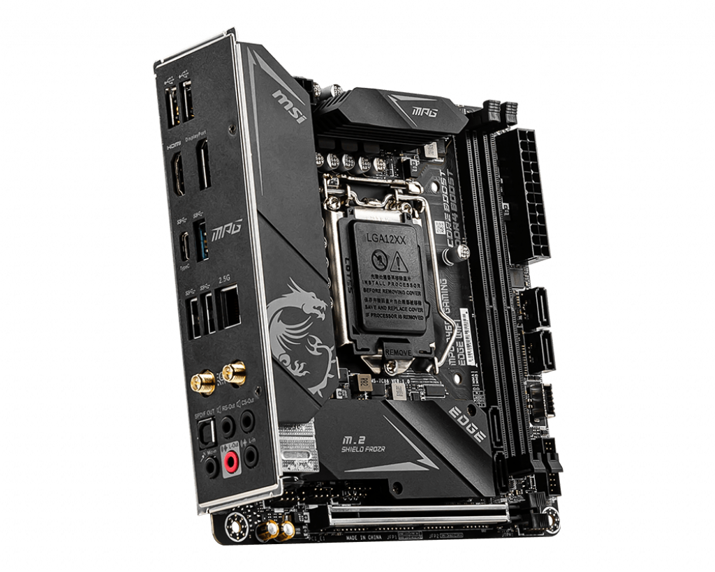Mainboard MSI MPG B460I GAMING EDGE WIFI (Intel B460, Socket 1200, ITX, 2 khe RAM DDR4)