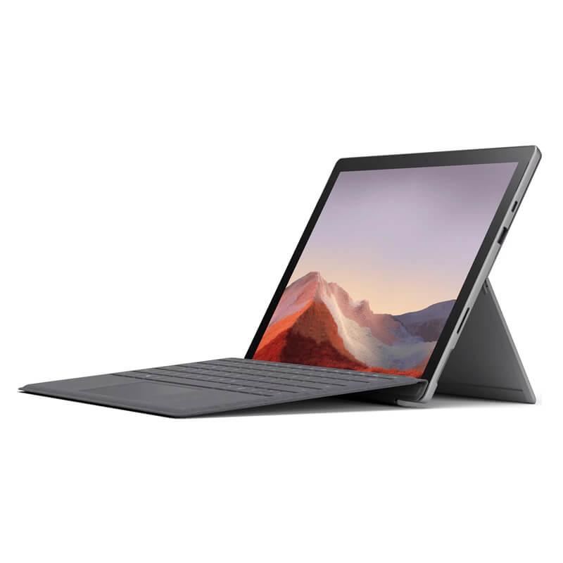 [Mới 100%] Surface Pro 7 Platinum/Black (kèm phím) - Intel Core i5