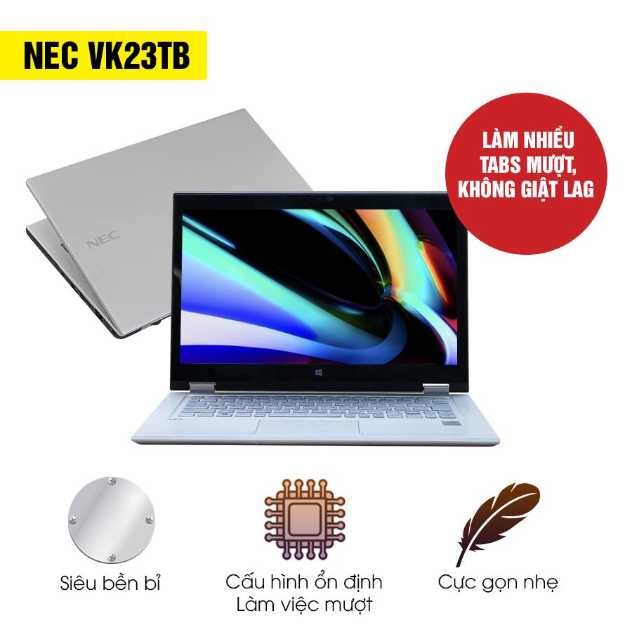 Laptop Cũ Nec VK23TB - Intel Core i5 (thương hiệu Nhật Bản)