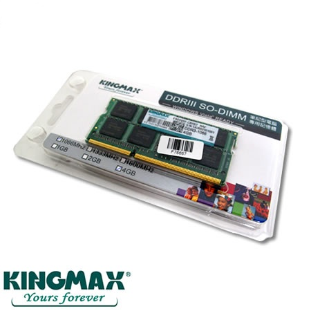 Ram Laptop 4GB Buss 1333 Kingmax