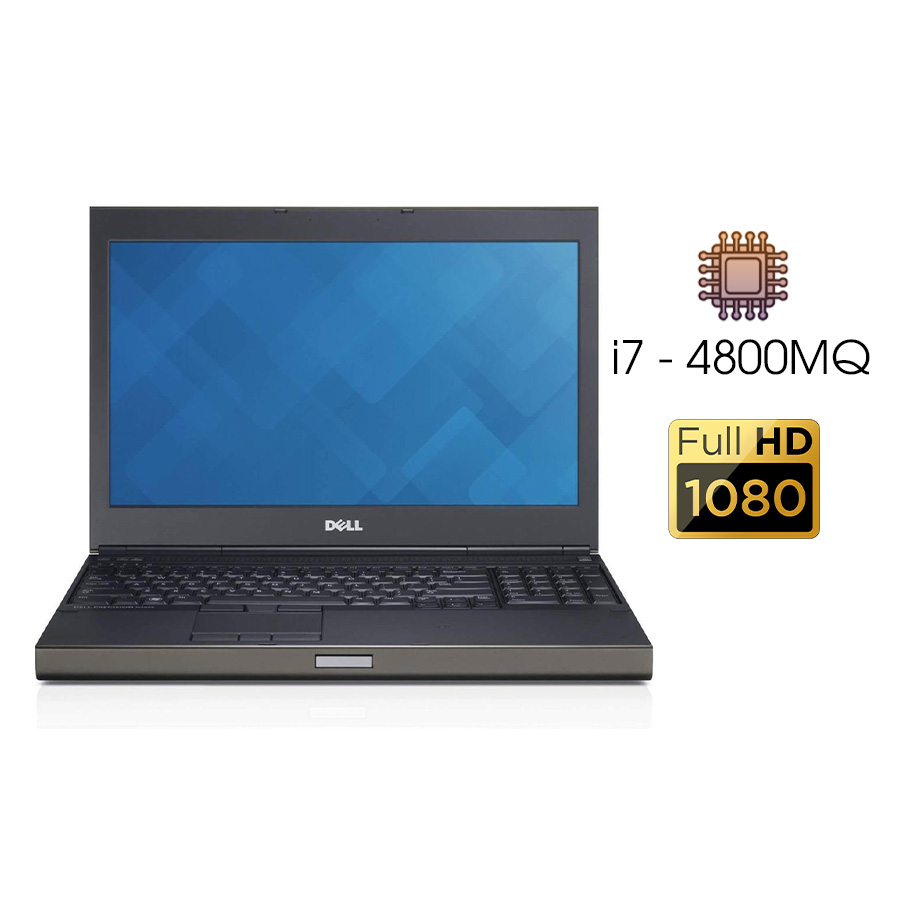 Laptop Cũ Dell Precision M4800 Intel Core i7 MQ