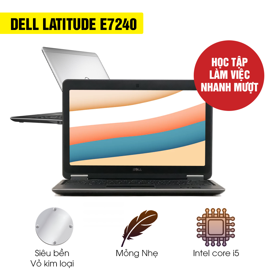 Laptop cũ Dell Latitude E7240 - Intel Core i5