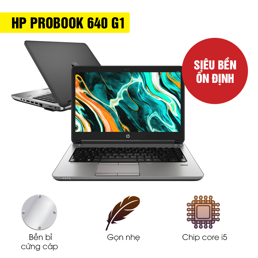 Laptop HP Probook 640 G1 - Intel Core i5