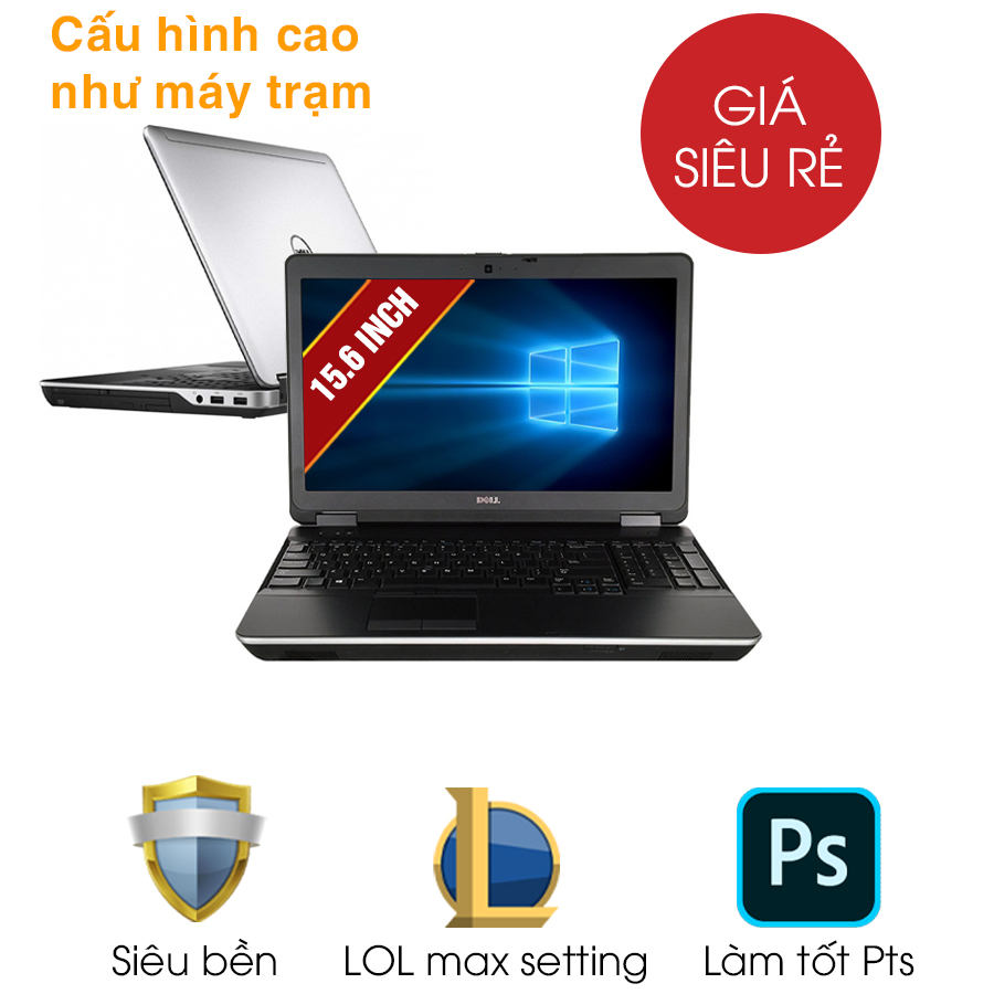 Laptop cũ Dell Latitude E6540 - Intel Core i5
