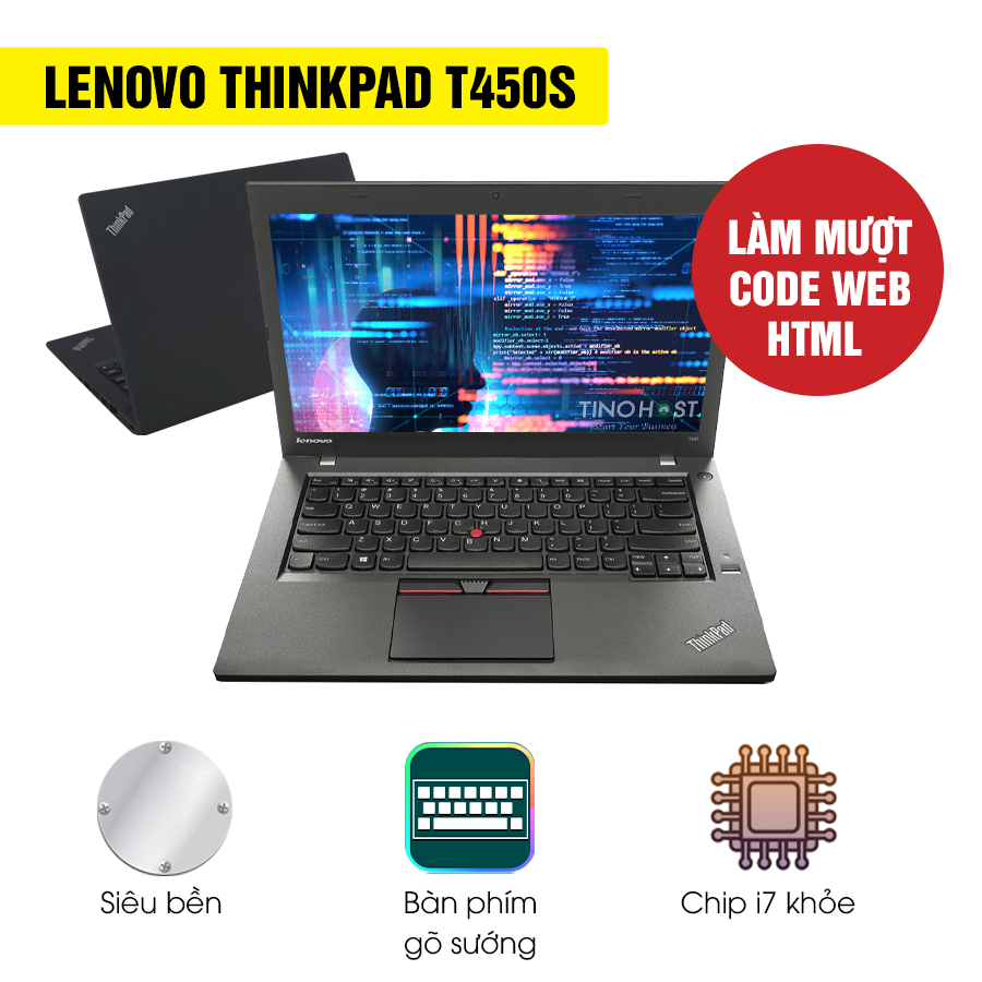 Laptop Cũ Lenovo Thinkpad T450s Intel Core i7
