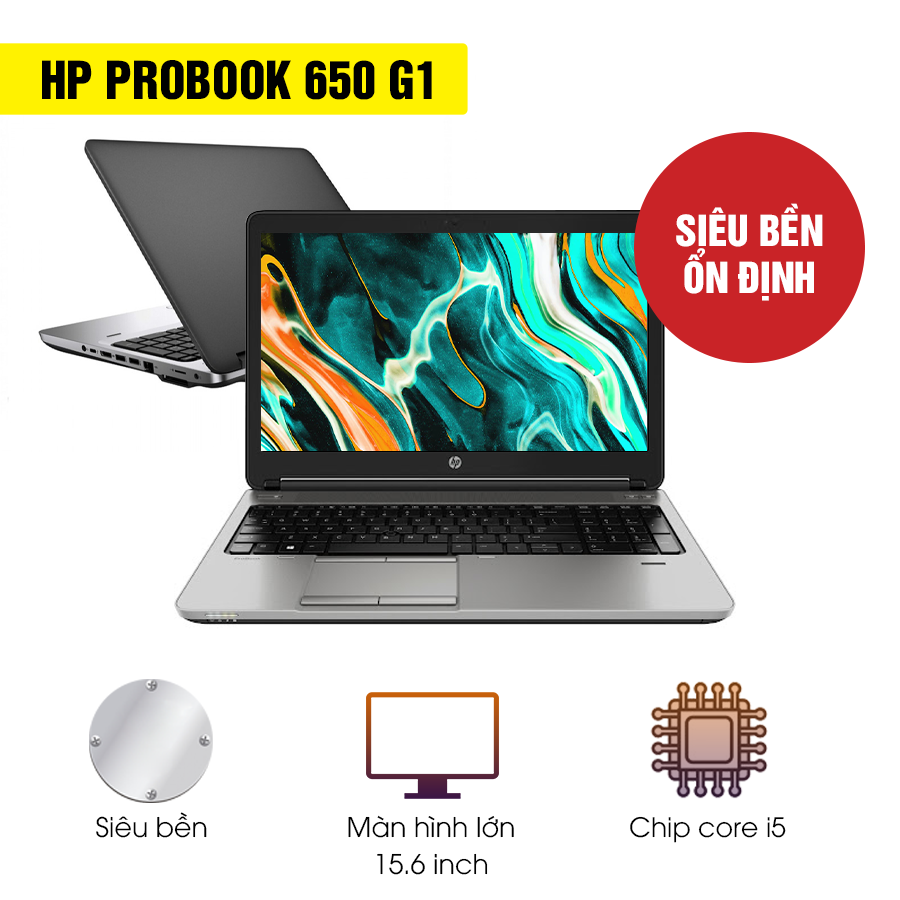 Laptop cũ HP Probook 650 G1 - Intel Core i5