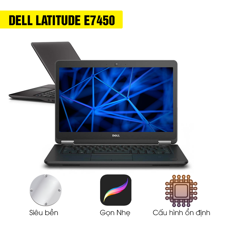 Laptop Cũ Dell Latitude E7450 Intel Core i7