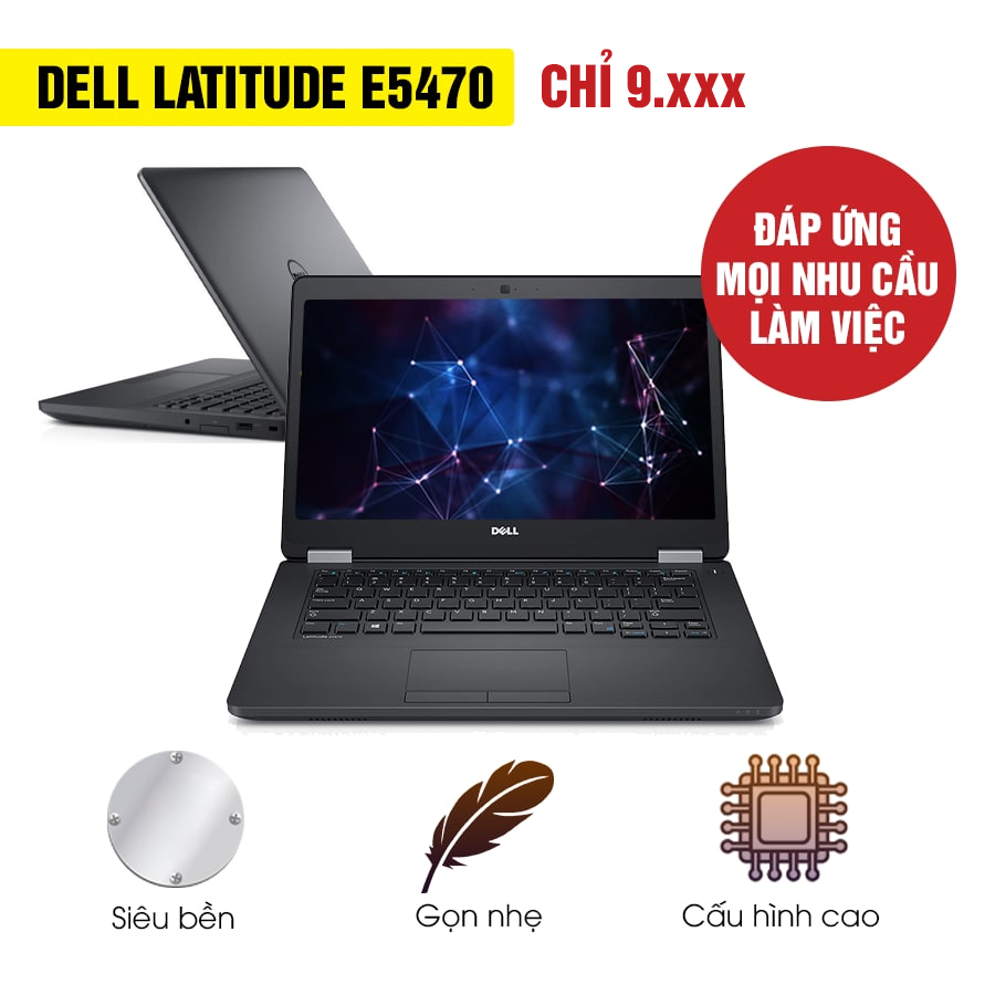 Laptop Cũ Dell Latitude E5470 - Intel Core i5