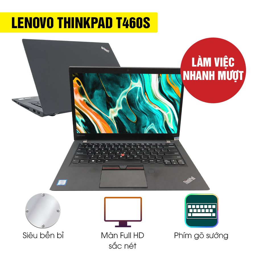 Laptop Cũ Lenovo Thinkpad T460s Intel Core i5