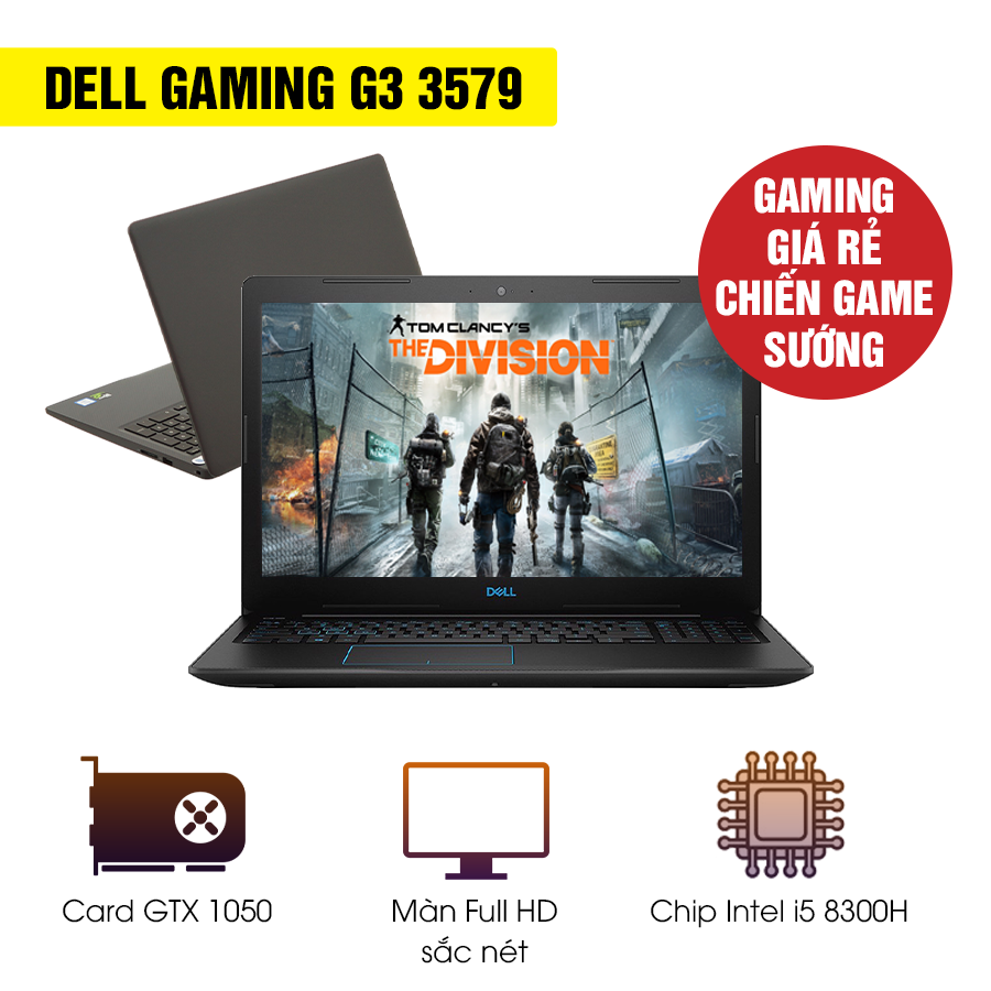 Laptop Gaming Cũ Dell G3 3579 - Intel Core i5