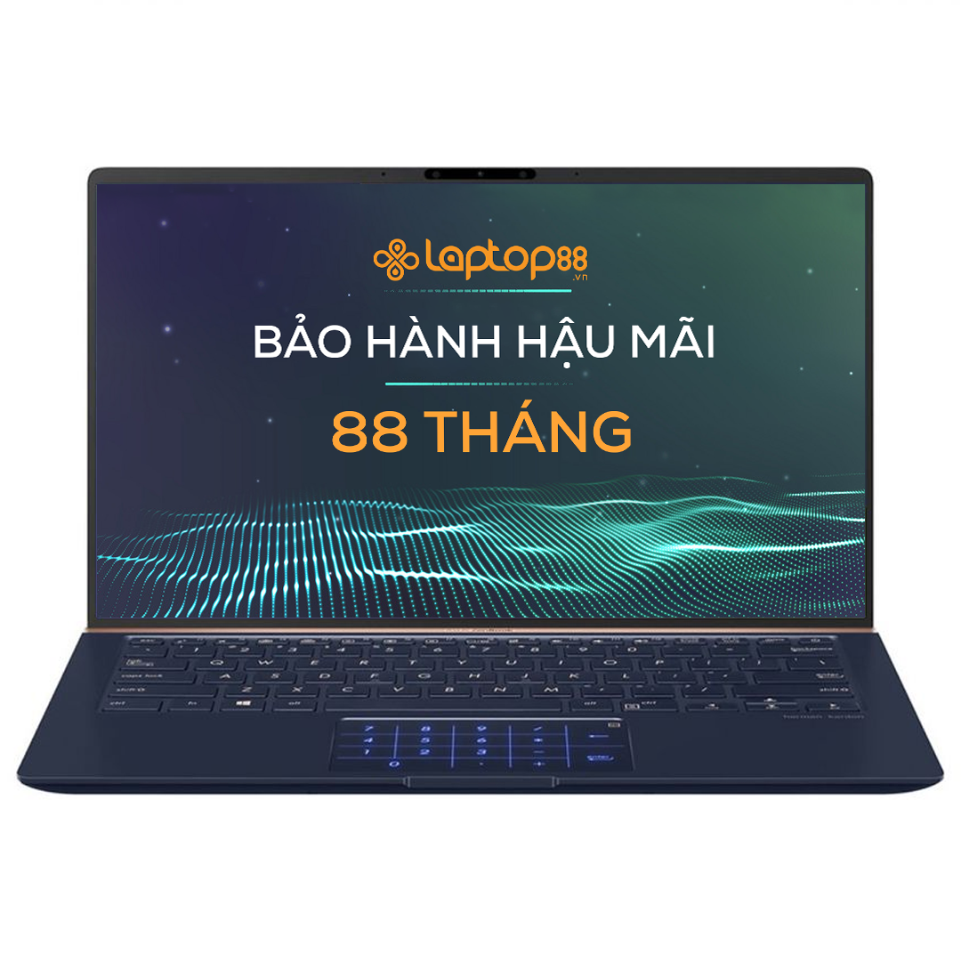 [Mới 100% Full box] Laptop Asus Zenbook UX433FA A6076T Royal Blue Sleeve