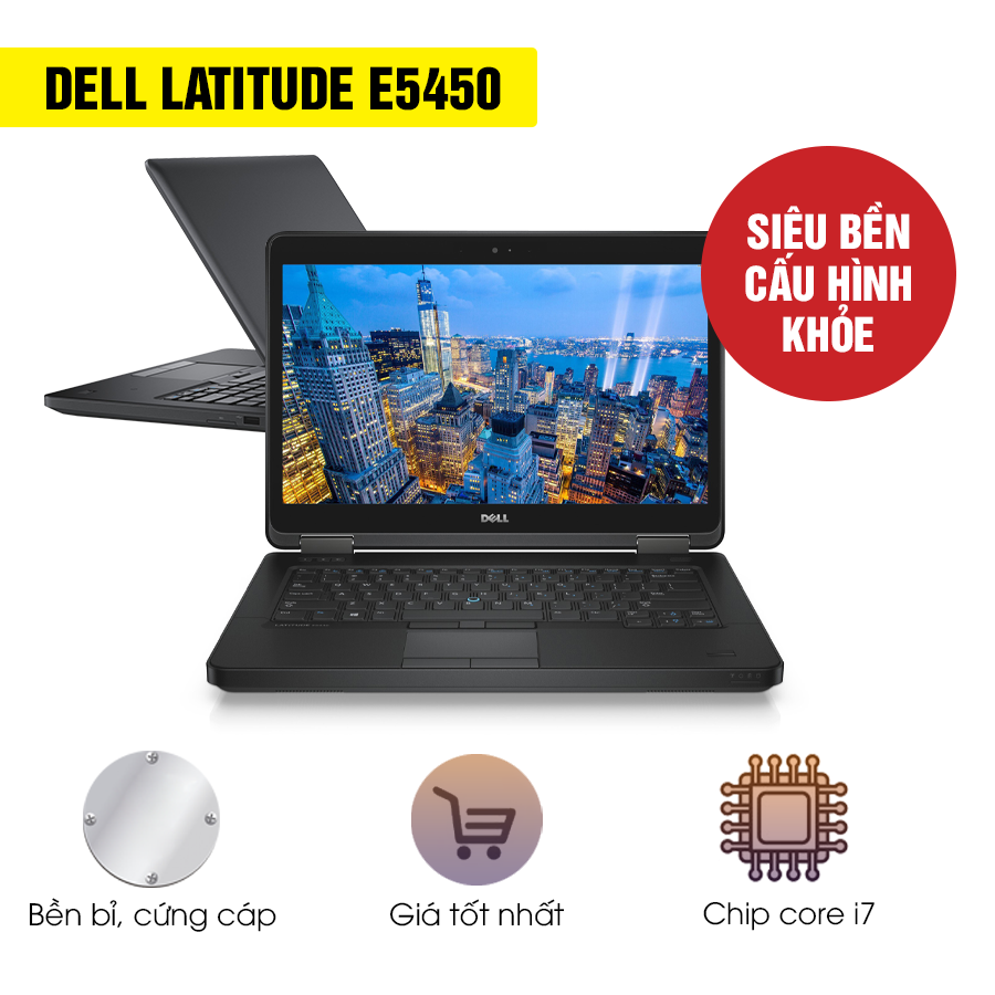 Laptop cũ Dell Latitude E5450 - Intel Core i7