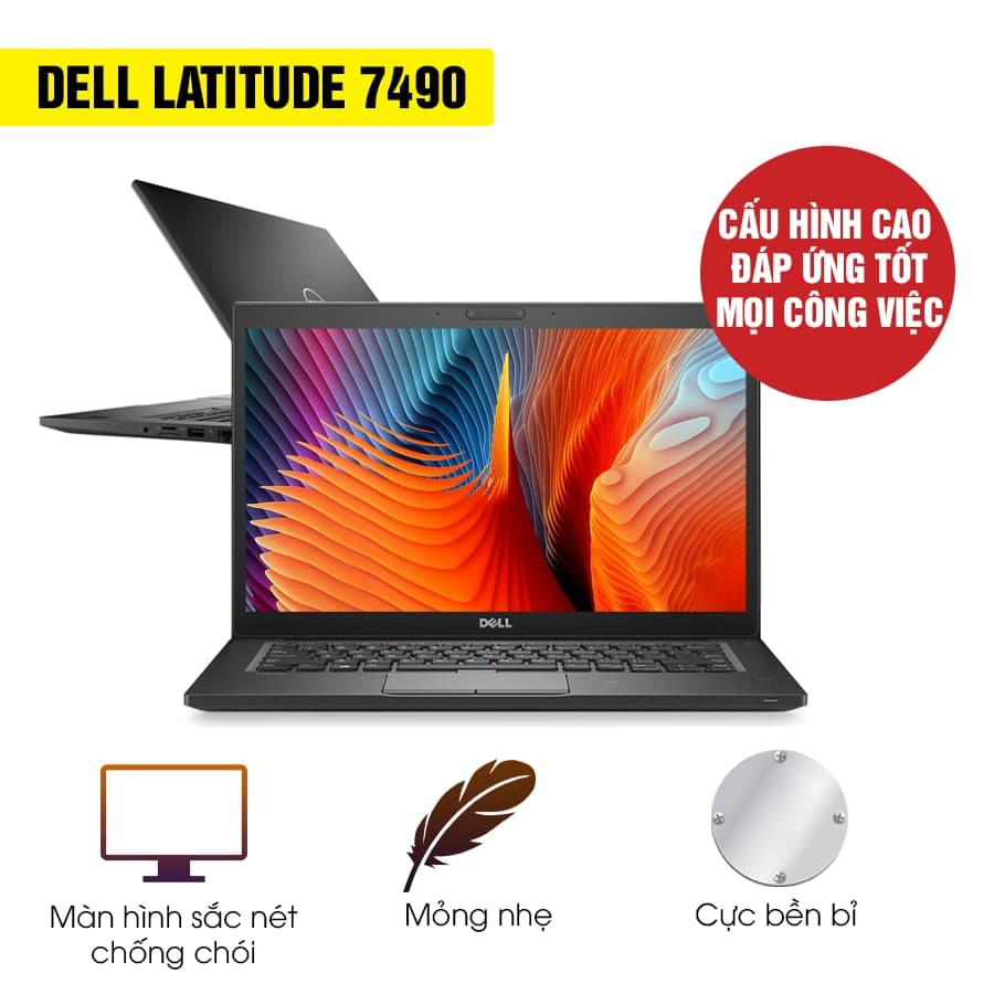 Laptop Cũ Dell Latitude 7490 - Intel Core i5