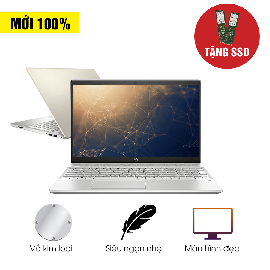 [Mới 100% Fullbox] Laptop HP 15-cs2000TU cs2001TU cs2031TU cs2032TU	 - Intel Core i3