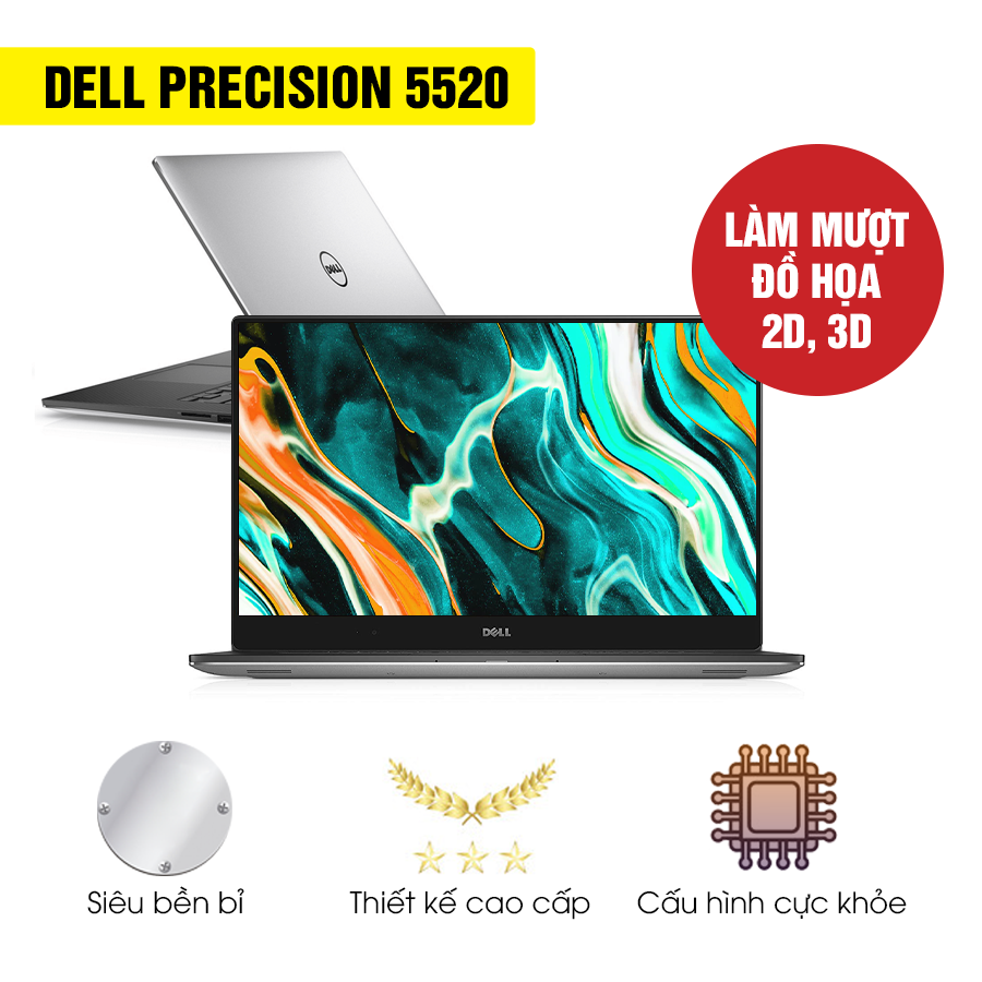 Laptop cũ Dell Precision M5520 - Intel Core i7