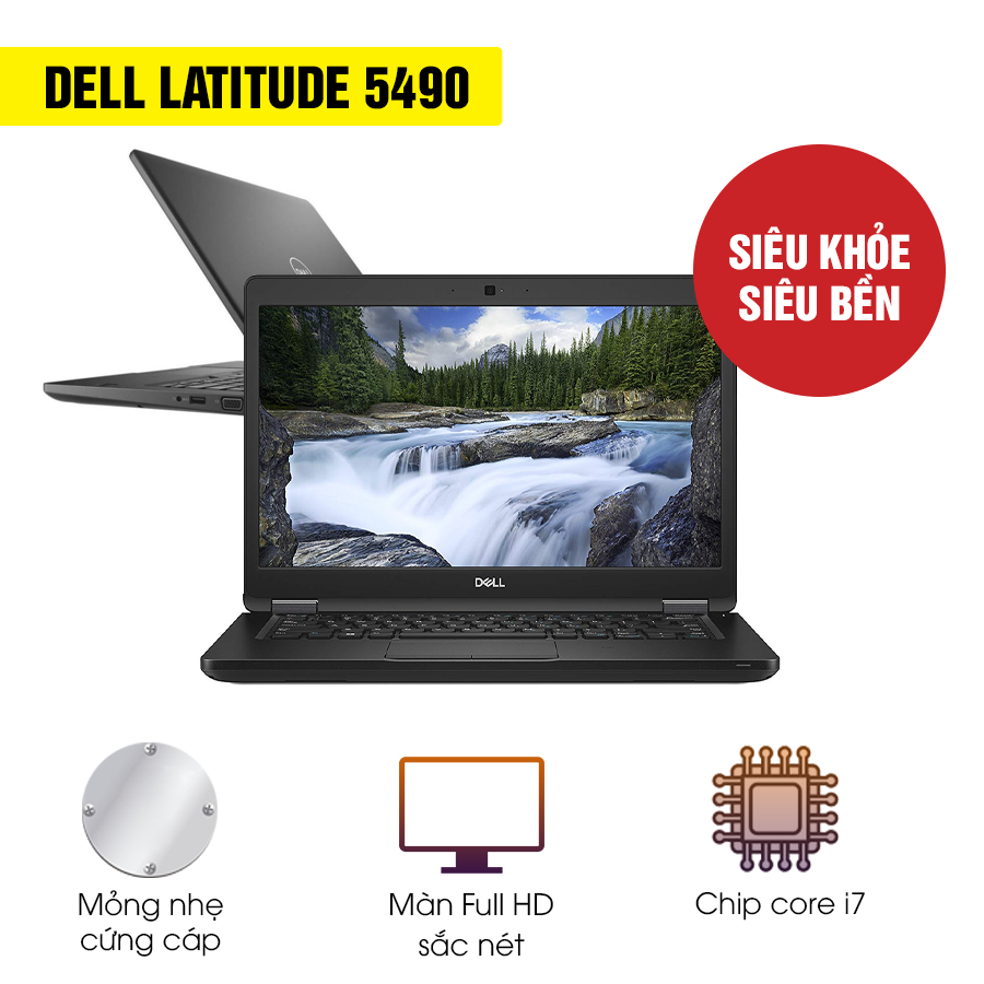 Laptop Cũ Dell Latitude E5490 - Intel Core i7