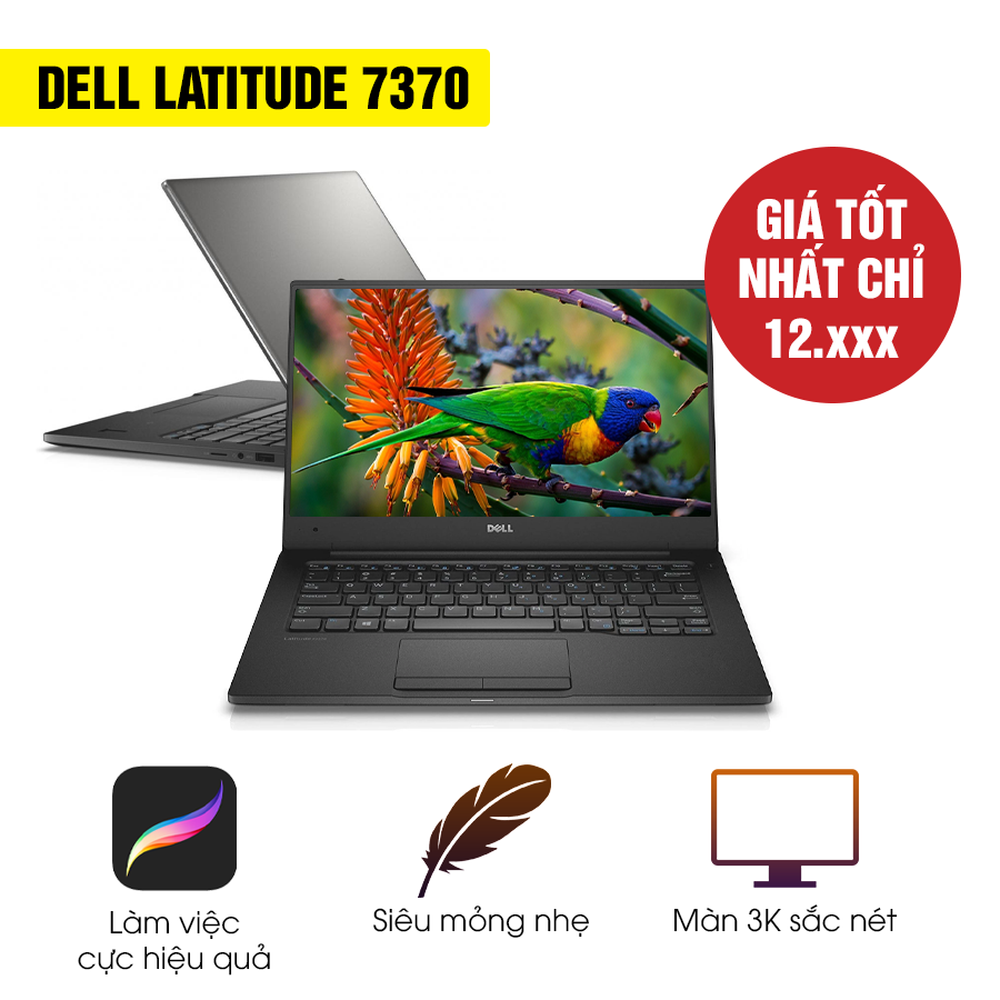 Laptop Cũ Dell Latitude 7370 - Intel Core M5