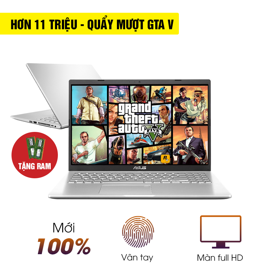 [Mới 100% Full Box] Laptop Asus Vivobook D509DA - AMD Ryzen 5