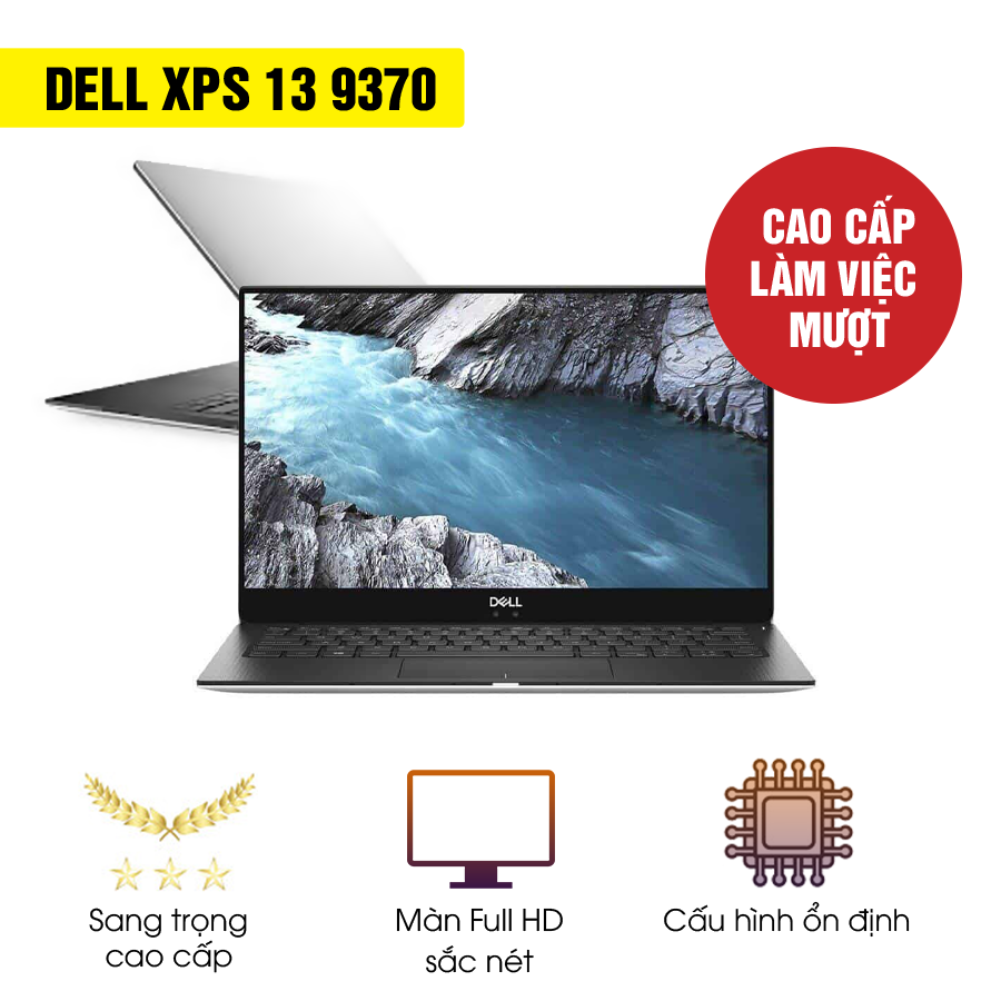 Laptop Cũ Dell XPS 9370 - Intel Core i5