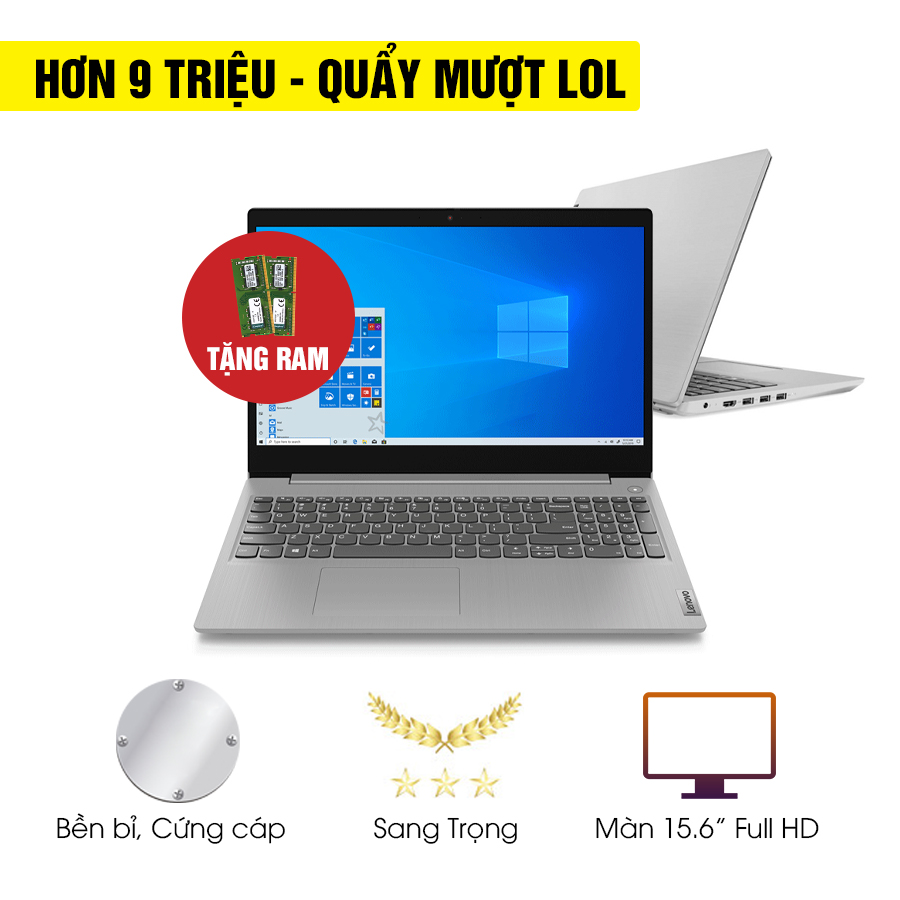 [Mới 100% Full Box] Laptop Lenovo IdeaPad 3 15ADA05 81W100GUVN - AMD Ryzen 3