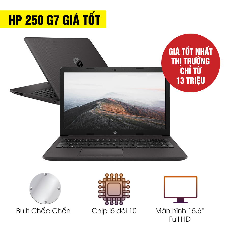 [Mới 100% Full Box] Laptop HP 250 G7 258M8PA - Intel Core i5