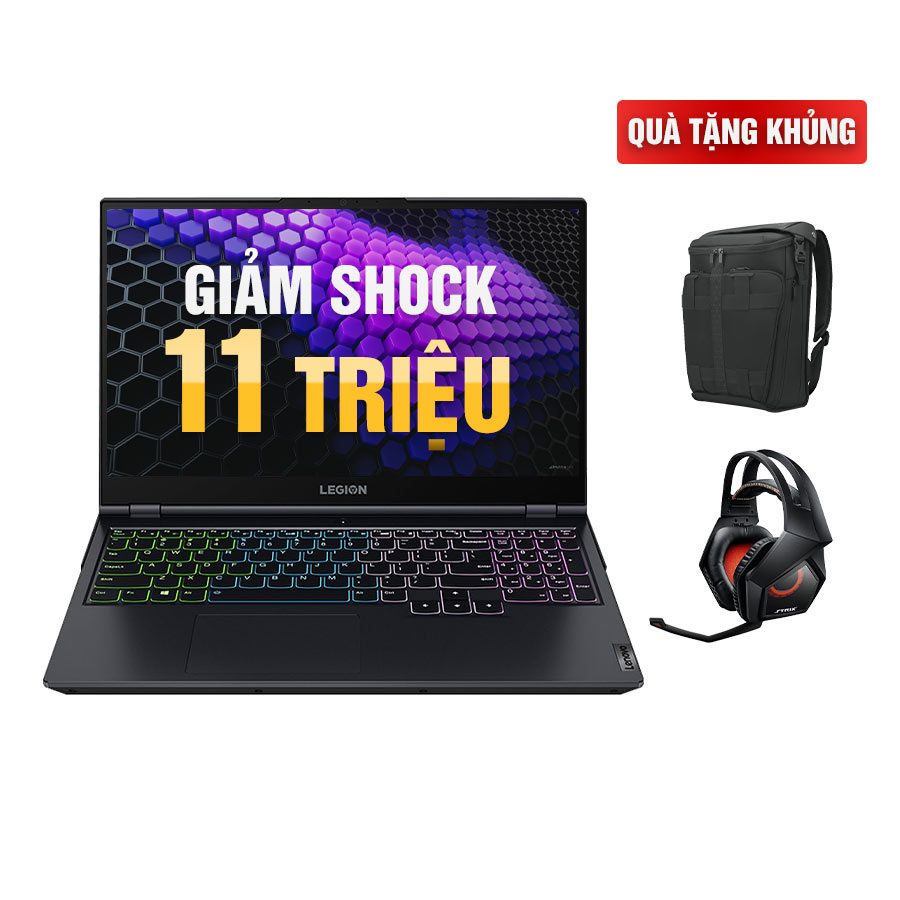 [Mới 100% Full Box] Laptop Lenovo Legion 5 15ARH05 82B1000AUS - AMD Ryzen 7
