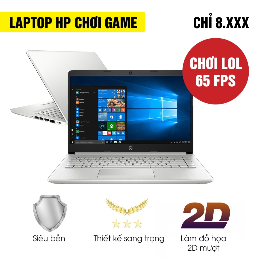 [Mới 99% Refurbished] Laptop HP 14-dk1025wm 1A491UA - AMD Ryzen 3