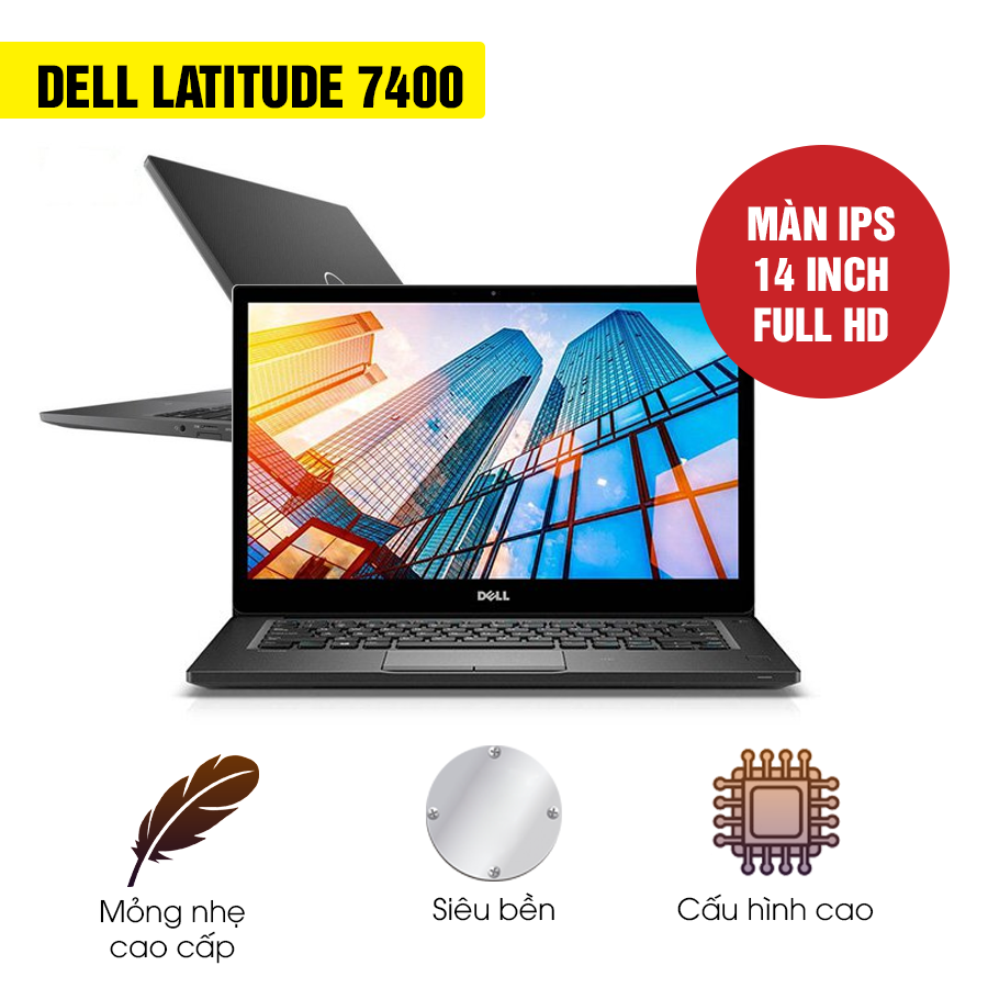 Laptop Cũ Dell Latitude 7400 - Intel Core i7