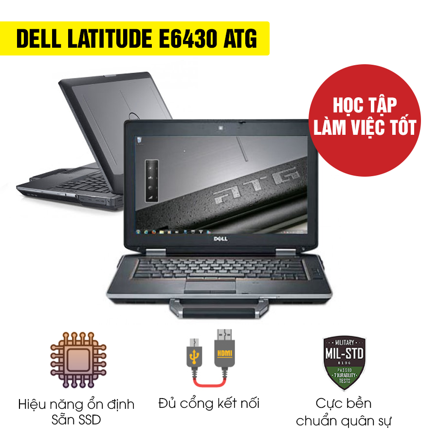 Laptop Cũ Dell Latitude E6430 ATG - Intel Core i5